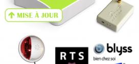 Mise à jour de l'eeDomus (juin 2014) : support RFY, X10 et Blyss