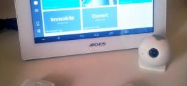 ARCHOS Smart Home : la domotique tout-en-un avec une tablette tactile et des modules miniatures