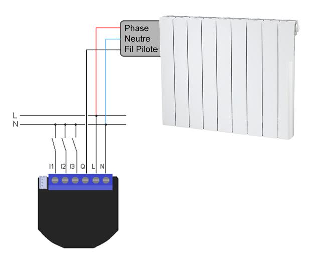 qubino propose deux nouveaux modules de gestion du chauffage fil pilote et thermostat. Black Bedroom Furniture Sets. Home Design Ideas