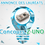 Annonce des lauréats du concours Z-UNO