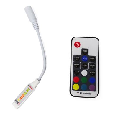 Contrôleur de LED RGB 433 MHz de Wizelec