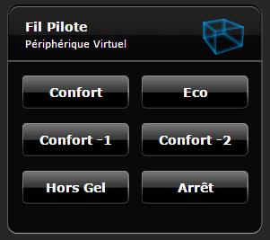 Fibaro : commander un module fil pilote