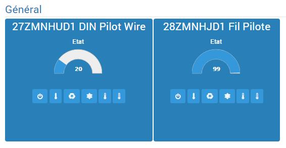 Jeedom : présentation des modules fil pilote