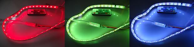 Contrôleur 433 MHz pour bandeau de LED