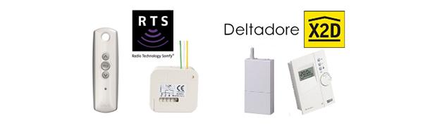 Protocoles RFPlayer : Somfy RTS, Deltadore X2D
