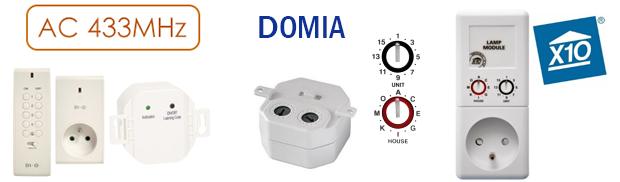 Protocoles RFPlayer : AC, Domia, X10RF