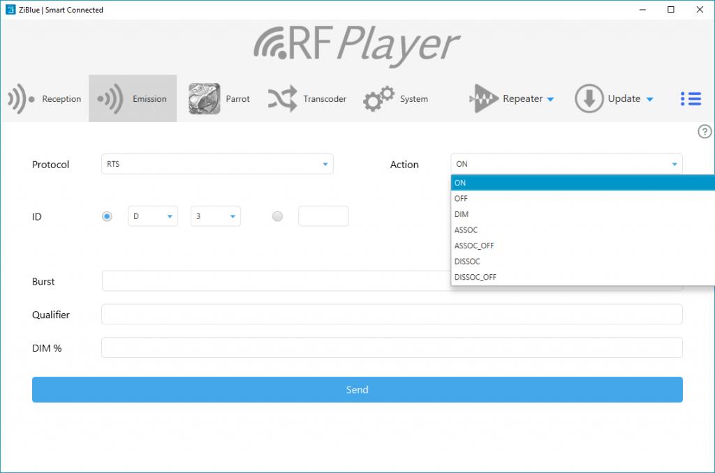 RFPlayer : émission sur l'appli
