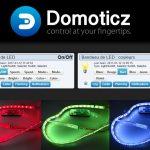 Domoticz : contrôle de bandeau de LED en 433 MHz