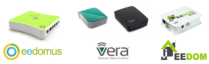 Systèmes compatibles RFPlayer : eedomus, Vera, Jeedom