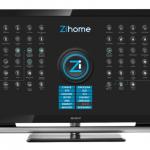 ZiHome sur une SmartTV
