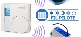 Piloter des modules fil pilote Qubino avec un thermostat mural Z-Wave Secure SRT321