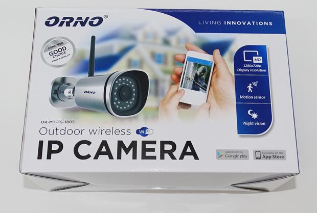 Caméra IP Orno : boite