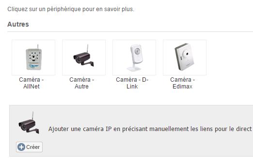 Caméra IP Orno et eedomus : ajout de la caméra