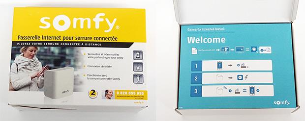 Serrure connectée : déballage de la passerelle internet