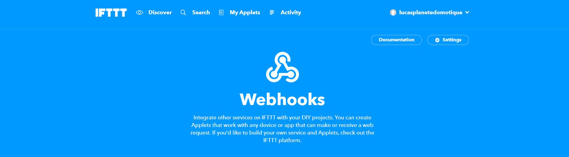 Utiliser les requetes HTTP pour être notifié en VoIP et mail avec IFTTT
