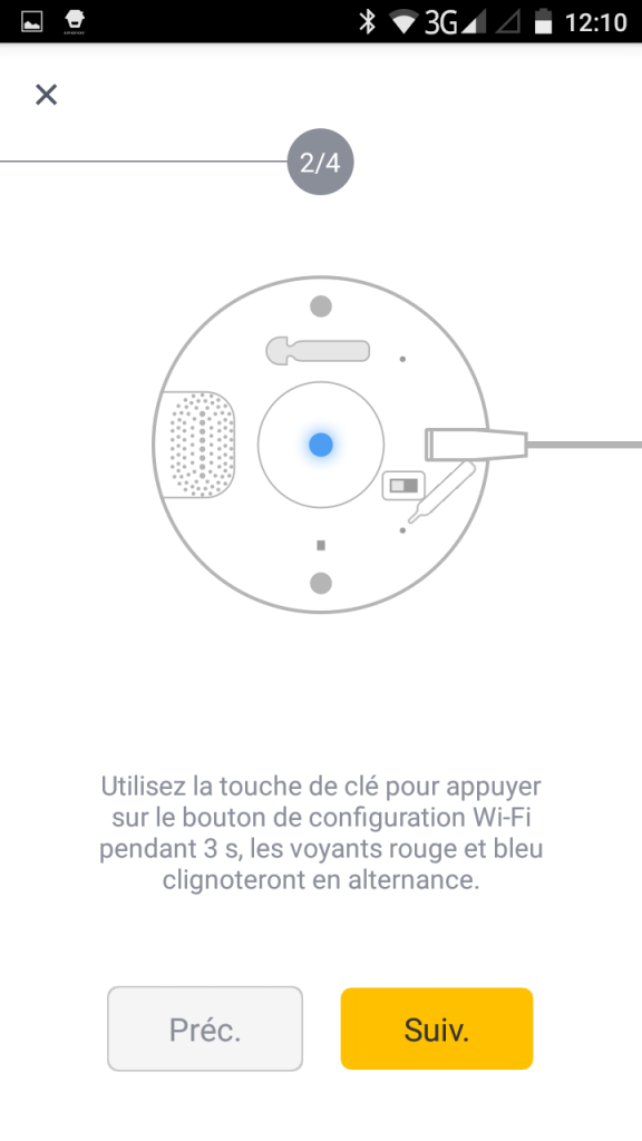 2 - Activation Wifi