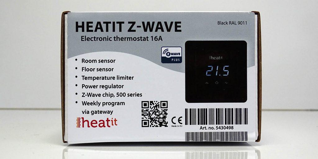 Thermostat Heatit boite