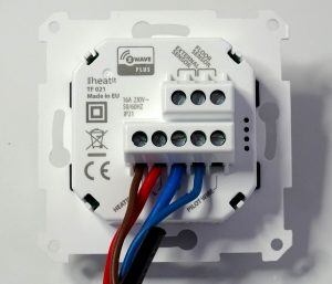 Branchement du thermostat Heatit
