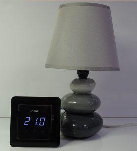 Lampe éteinte à 21°