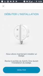 Installation badge