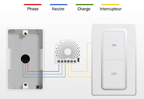 Branchement du module Nano Dimmer de Aeon Labs