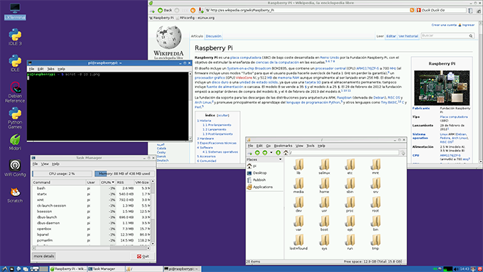Raspbian sur Raspberry Pi