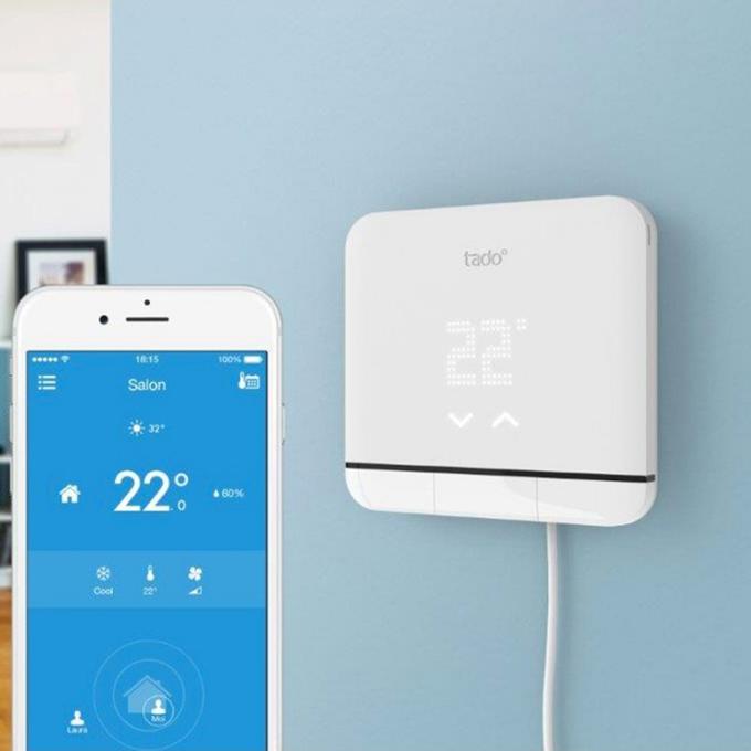 contr le de climatiseur intelligent smart climatisation v3 tado. Black Bedroom Furniture Sets. Home Design Ideas