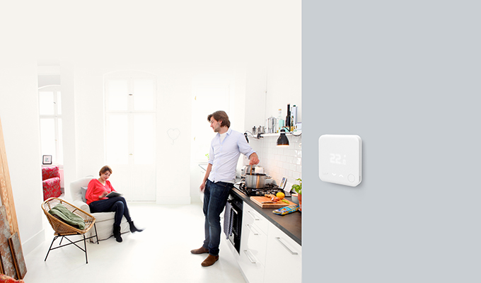 Thermostat suppl mentaire v3 pour smart thermostat tado for Thermostat d ambiance saint denis
