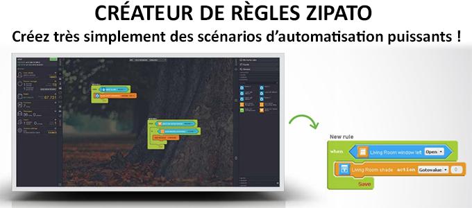 Créateurs de règles Zipato pour Zipamini