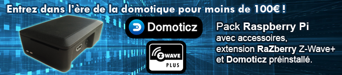 Pack Raspberry Z-Wave Plus Domoticz