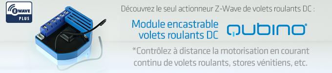 Module volets roulants DC Z-Wave de Qubino