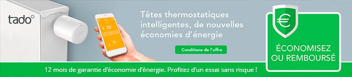 Offre Tado° : économisez ou remboursé - Smart Thermostat