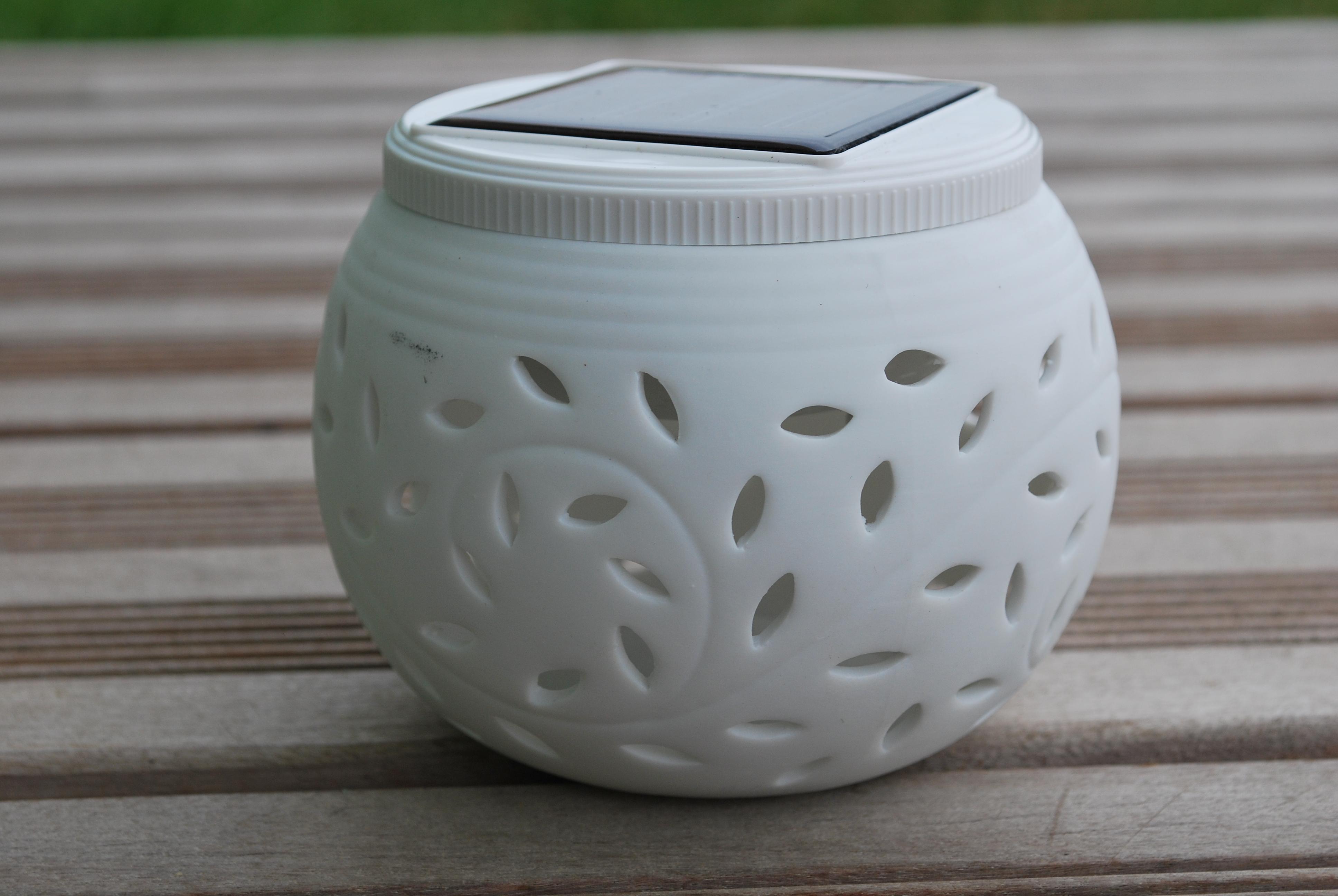 Lanterne solaire en céramique - Galix