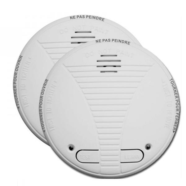Lot de 2 détecteurs de fumée interconnectable CHACON
