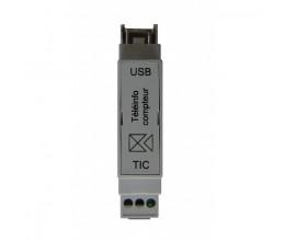 Compteur téléinformation USB Rail DIN
