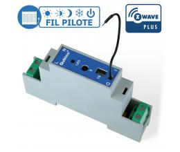 Module rail DIN Fil Pilote Z-Wave Plus - Qubino