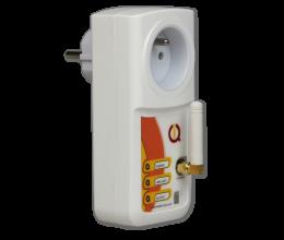 Prise pilotable par GSM et Bluetooth avec détection de coupure de courant IQSocket mobile - IQTronic