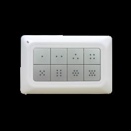 Contrôleur de scènes Z-Wave 8 boutons - Remotec