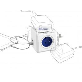 Bloc Multiprise Compact (4 Prises + 2 USB) - Allocacoc