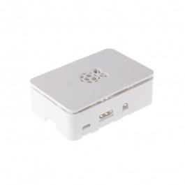 Boitier pour carte Raspberry Pi (2B, 3B, B+) Couleur blanc - RSPro