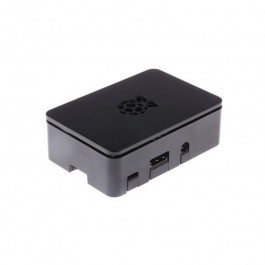 Boitier pour carte Raspberry Pi (2B, 3B, B+) Couleur noir - RSPro