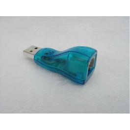 Contrôleur  USB 1-Wire DS9490R (USB/RJ11)