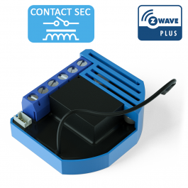 Module 1D contact sec Z-Wave Plus encastrable - QUBINO