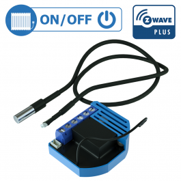 Module thermostat on/off encastrable Z-Wave Plus - QUBINO