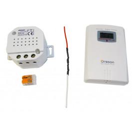 Kit de gestion de chauffage fil pilote en 433 MHz avec thermomètre
