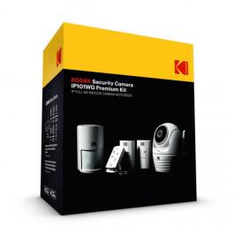 Kit premium caméra de sécurité intérieure IP Full HD et motorisée + 2 Contacteurs de porte + télécommande + détecteur de mouvement