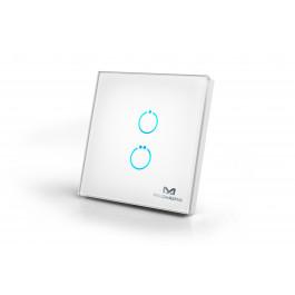 Actionneur Z-Wave avec surface tactile 2 boutons - MCO Home