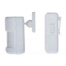 Détecteur de mouvement PIR avec alerte sonore sans fil à clip - Orno