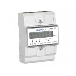 Compteur d'énergie triphasé avec afficheur et sortie impulsion - ORNO