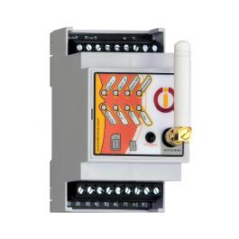 [RECONDITIONNÉ] Boitier Rail-DIN pilotable par GSM et Bluetooth avec détection de coupure de courant IQconbox mobile - IQTronic